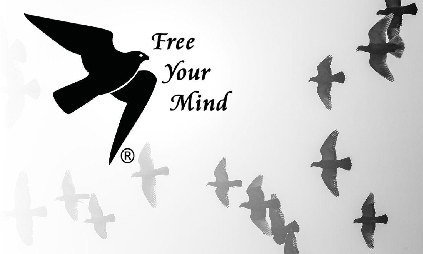Wat is PSYCH-K®. Free your mind logo.