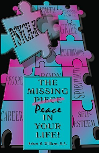 Boek van Rob Williams: The missing peace in your life